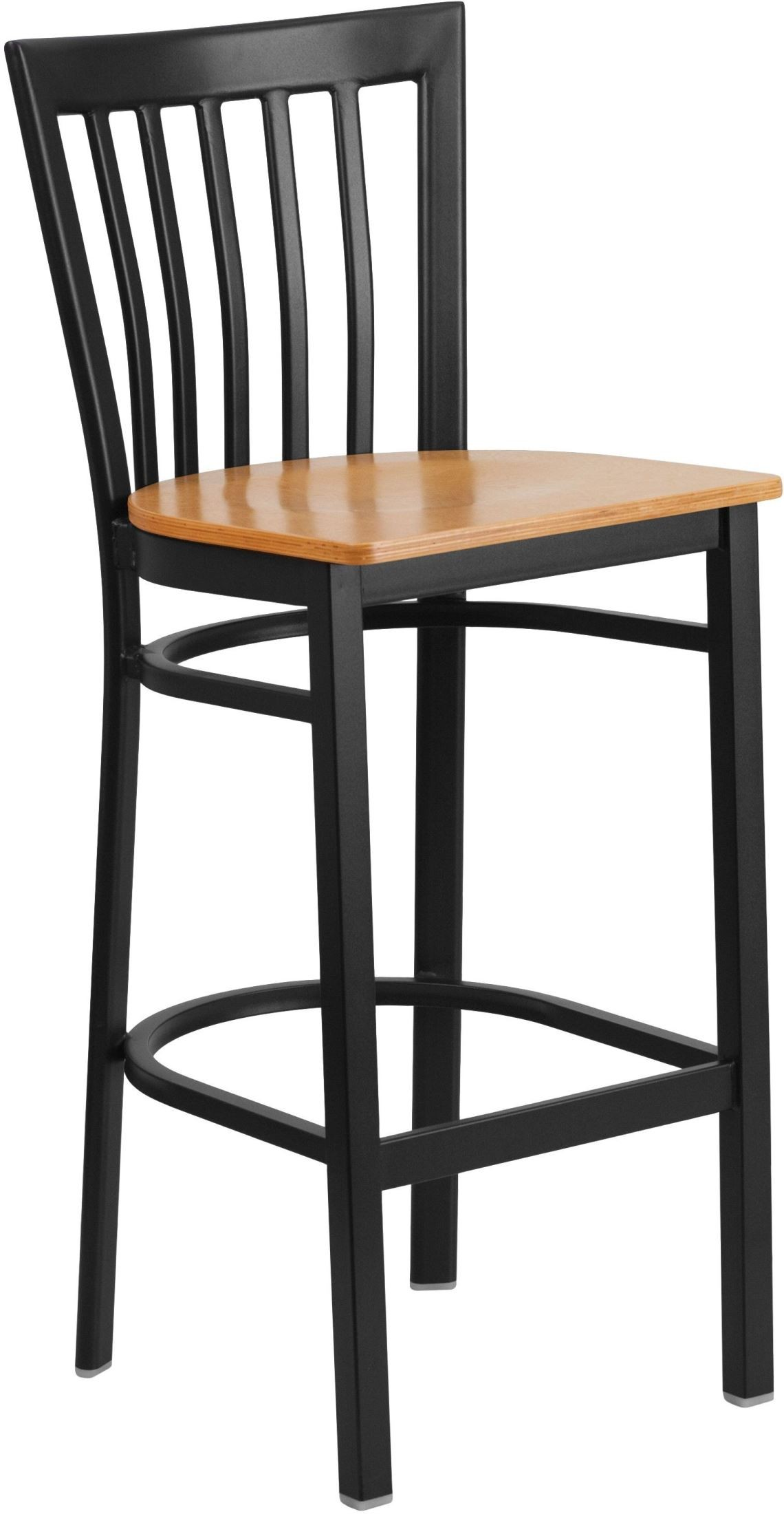 HERCULES Series Black School House Back Natural Wood Seat  : xu dg6r8bsch bar natw gg from colemanfurniture.com size 1140 x 2200 jpeg 194kB