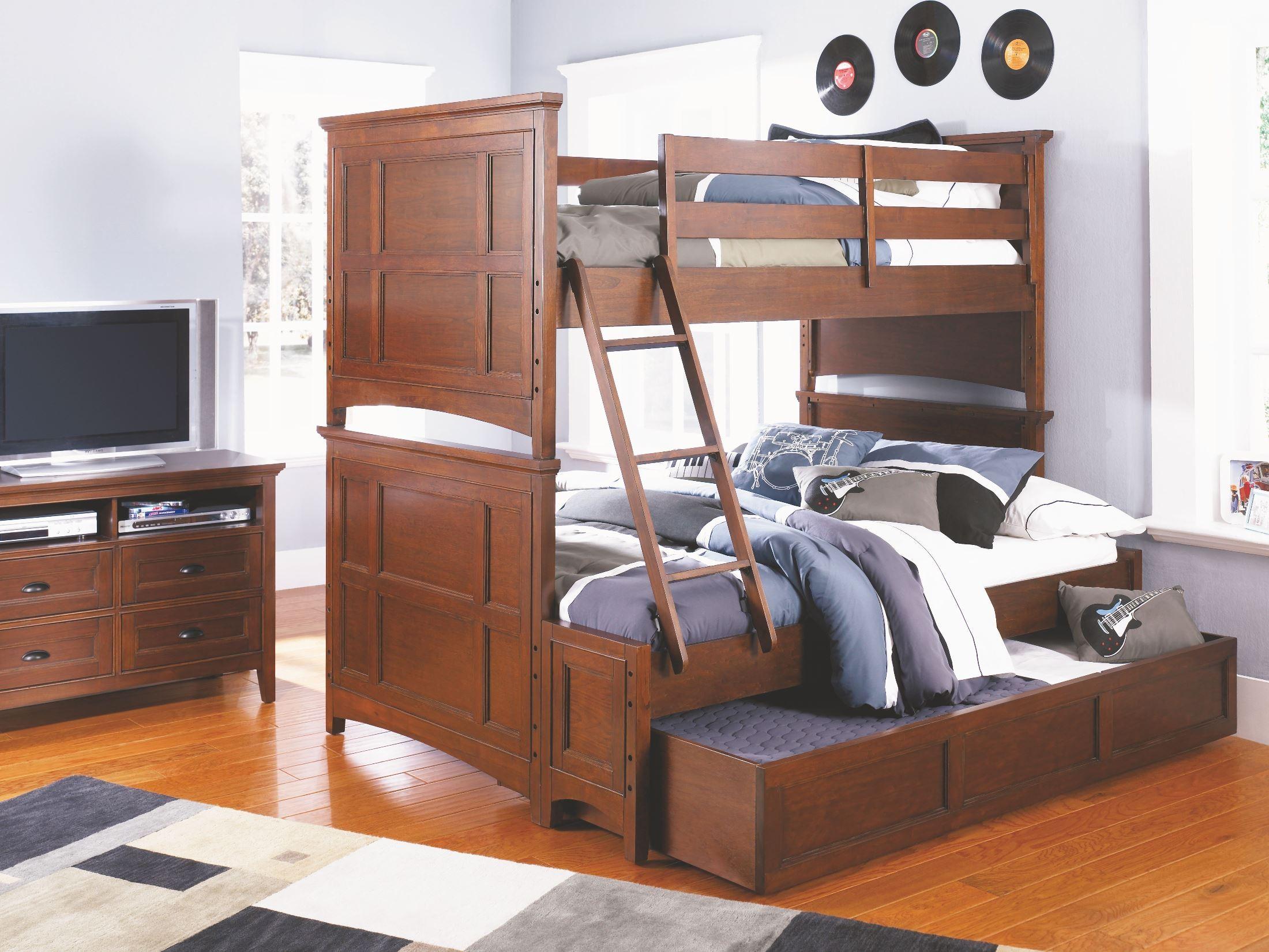 Riley Bunk Bed Bedroom Set From Magnussen Home