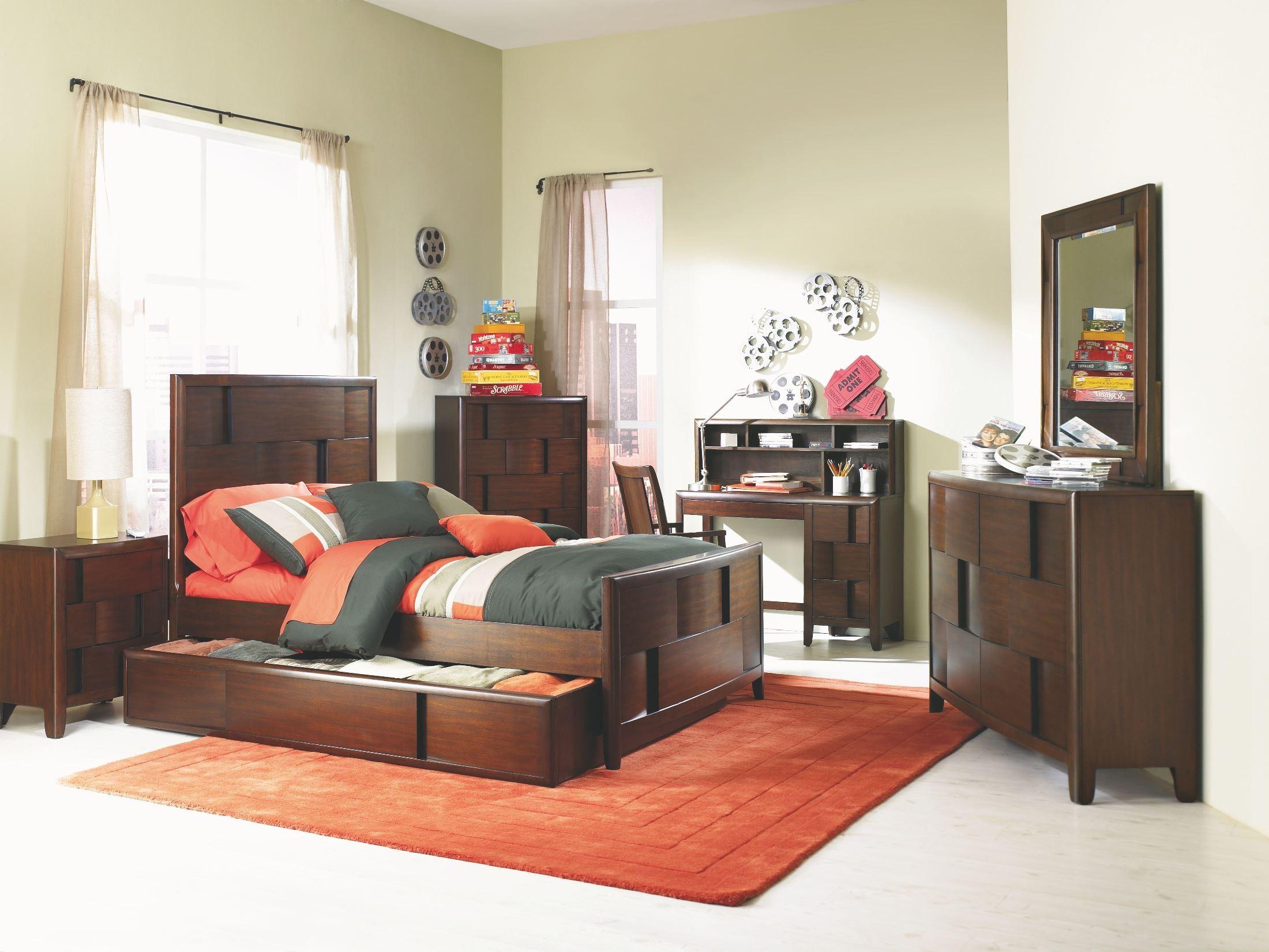 Twilight Trundle Panel Bedroom Set From Magnussen Home