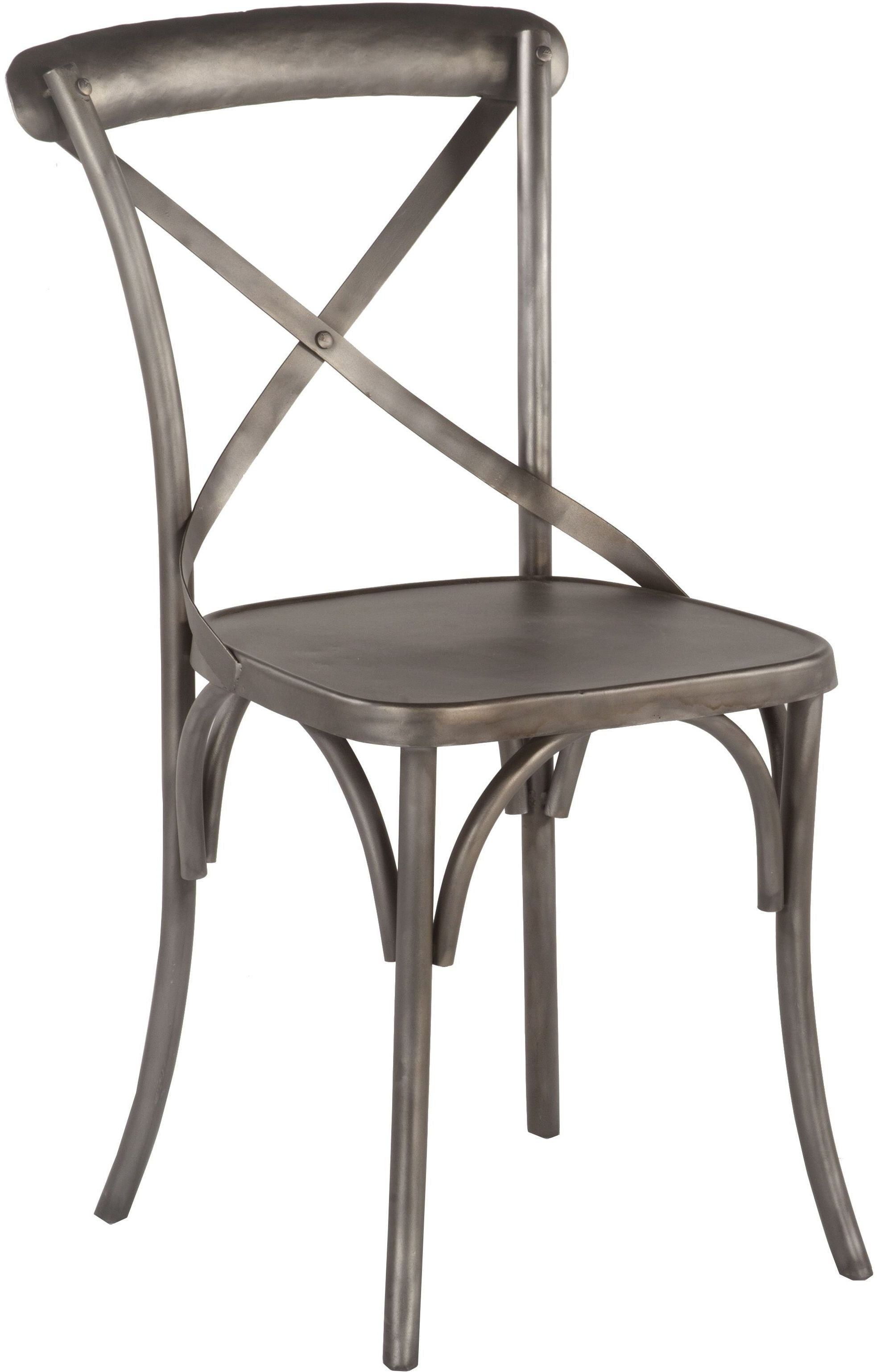 Anderson Reclaimed Antique Nickel Dining Chair Set of 2 from Home ...