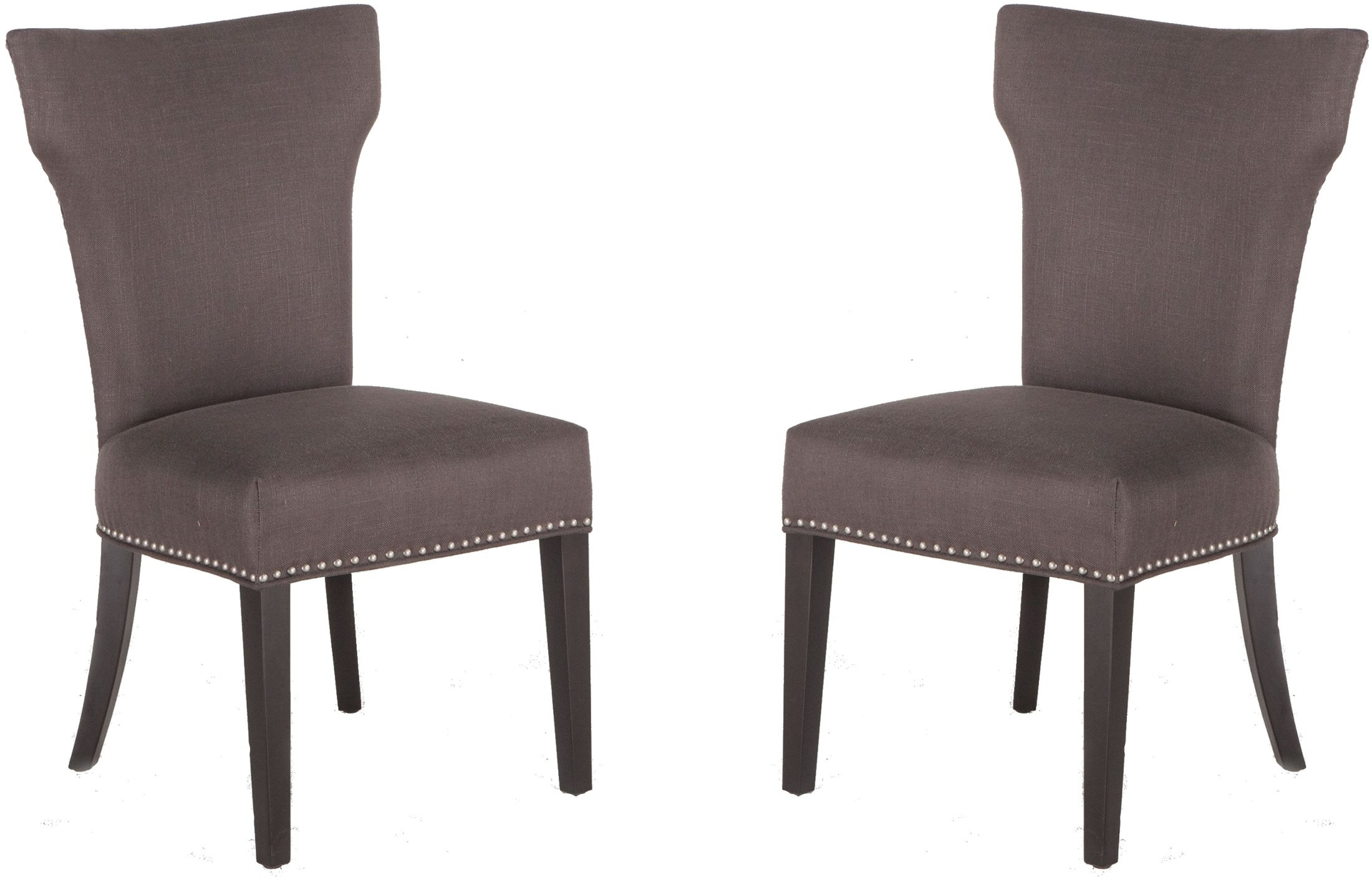 Becca Charcoal Grey Dining Chair Set Of 2 From Home Trends