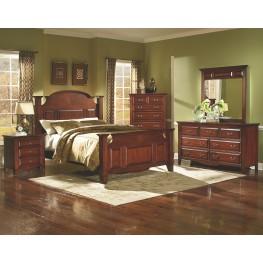 Drayton Hall Bordeaux Panel Bedroom Set