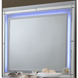 Valentino Silver Lighted Mirror