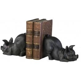 Piggy Bookends Set of 2