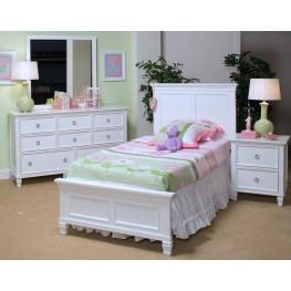 Tamarack White Youth Platform Bedroom Set