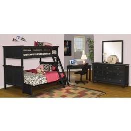 Tamarack Black Youth Bunk Bedroom Set