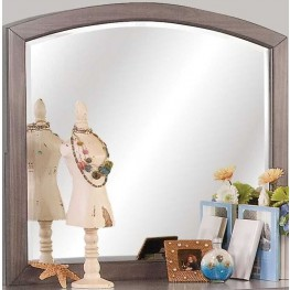 Allegra Youth Pewter Youth Mirror