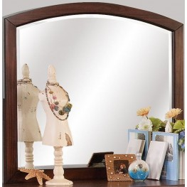 Jesse Youth Cherry Brown Mirror