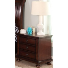 Jesse Youth Cherry Brown Nightstand