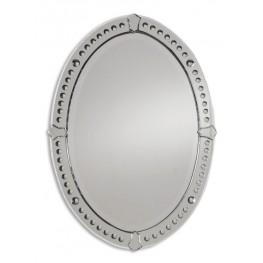 Graziano Frameless Oval Mirror