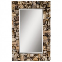 Thatcher Teak Root Mirror