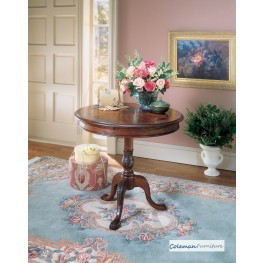 Plantation Cherry 0533024 Round Pedestal Table
