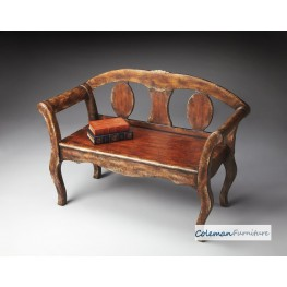 Tobacco Leaf Bench
