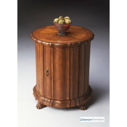Vintage Oak 0571001 Drum Table