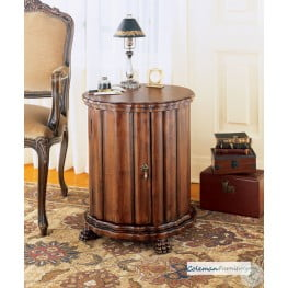 Fabulous Plantation Cherry 0571024 Drum Table Download Free Architecture Designs Intelgarnamadebymaigaardcom