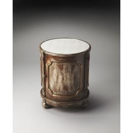 Artists Originals Thurmond Mirrored Ash Drum Table