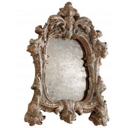 Avalon Rustic Silver Mirror