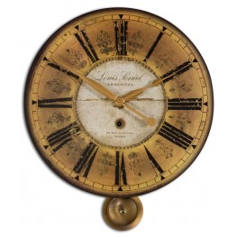 Louis Leniel Cream & Gold Wall Clock