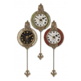 Monarch Wall Clock Set of 3
