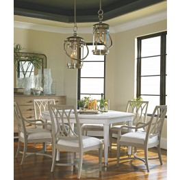 coastal living lighting. Coastal Living Resort Nautical White Soledad Promenade Leg Dining Room Set Lighting