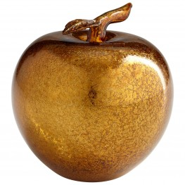 Apple Gold Sculpture