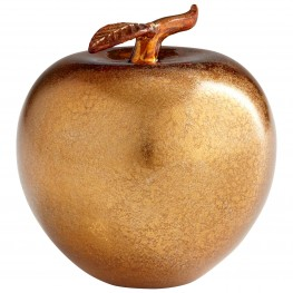 Apple Bronze Sculpture