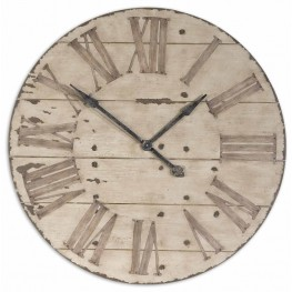 "Harrington 36"" Wooden Wall Clock"