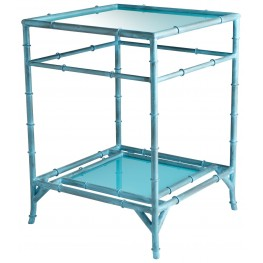 Akira Blue Side Table