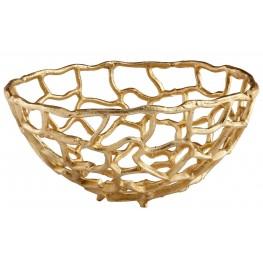 Small Enigma Gold Bowl