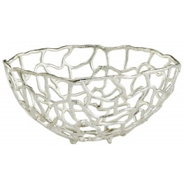 Large Enigma Silver Bowl