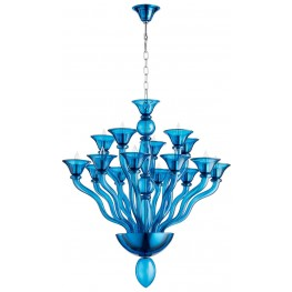 "Phantasm Chrome 47"" Chandelier"