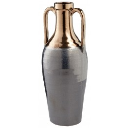 Large Gold and Zinc Jardiniere Vase
