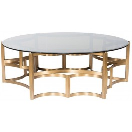Core Gold and Silver Coffee Table