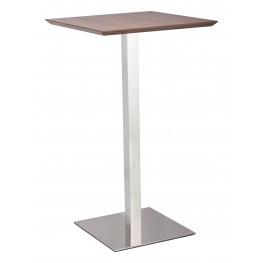 Malmo Walnut Bar Table
