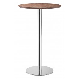 Bergen Walnut Bar Table