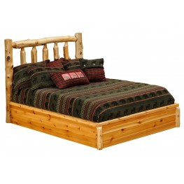Cedar Twin Platform Bed