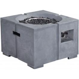 Dante Gray Propane Fire Pit
