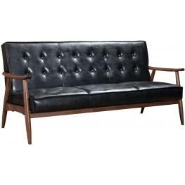 Rocky Black Sofa