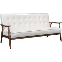 Rocky White Sofa