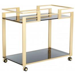 Avondale Gold Bar Cart