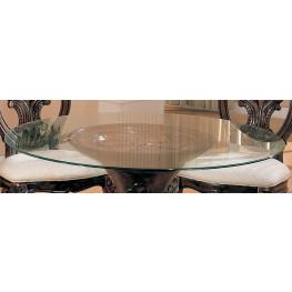 Round Beveled Glass