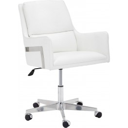 Torres White Office Chair
