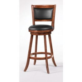 "Espresso 29"" Swivel Bar Stool 101920 Set of 2"