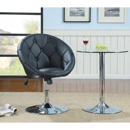 102580 Black Swivel Chair