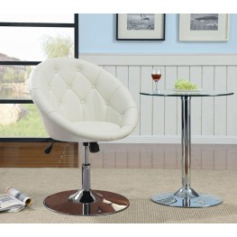 102583 White Swivel Chair