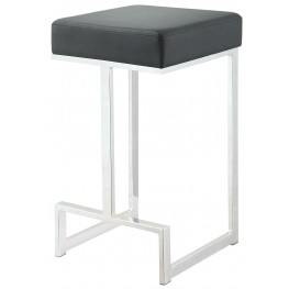 "Black 24"" Bar Stool"