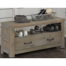 Highlands Driftwood Dressing Bench