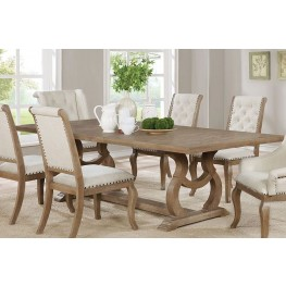 Glen Cove Weathered Extendable Rectangular Dining Table By Scott Living