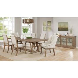 Glen Cove Weathered Extendable Rectangular Dining Room Set By Scott Living  ...