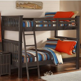 Highlands Harper Espresso Full Over Full Bunk Bed